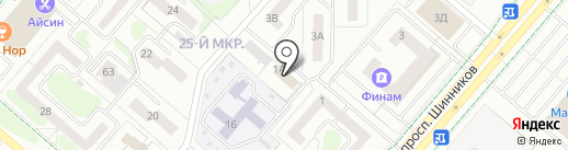 Адвокатский кабинет Валиева А.Р. на карте Нижнекамска