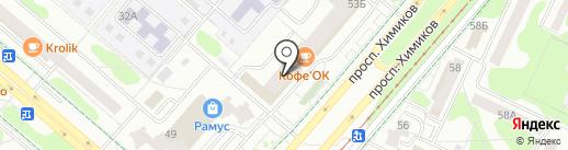 АКБ Энергобанк, ПАО на карте Нижнекамска