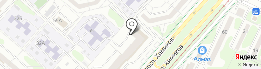 Exist.ru на карте Нижнекамска