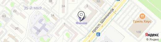Комфорт, ТСЖ на карте Нижнекамска