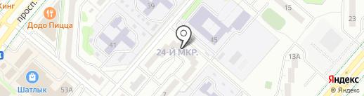 Библиотека семейного чтения №48 на карте Нижнекамска