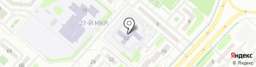 Детский сад №88 на карте Нижнекамска