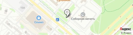 Сеть платежных терминалов, АКИБАНК, ПАО на карте Нижнекамска