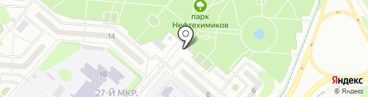 1-й Доступный на карте Нижнекамска