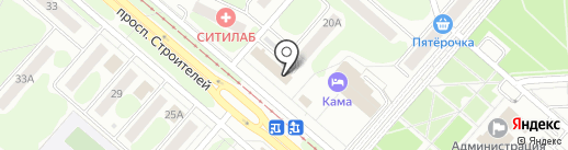 Like на карте Нижнекамска