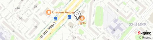 Банкомат, АБ Девон-кредит, ПАО на карте Нижнекамска