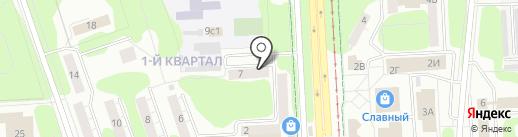 Коллегия адвокатов №1 на карте Нижнекамска