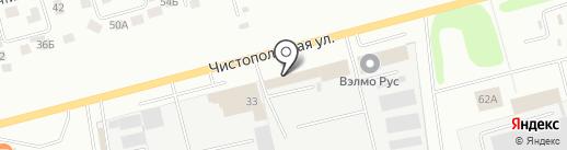 ЗАПЧАСТЬ-РАИЛ на карте Нижнекамска