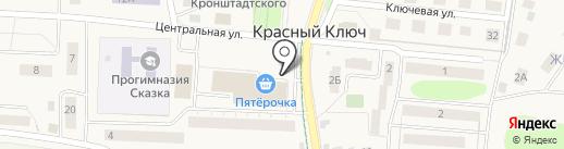 Бочонок на карте Красного Ключа