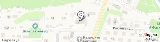 Дуслык на карте Красного Ключа
