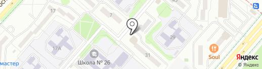 ЭЛЕМЕР-УФА на карте Нижнекамска