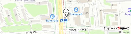 Ивановский текстиль на карте Нижнекамска