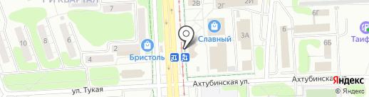 Сеть платежных терминалов, Совкомбанк, ПАО на карте Нижнекамска
