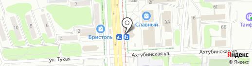 Продуктовый магазин на карте Нижнекамска