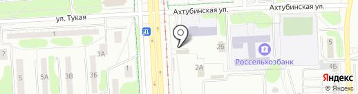 Магазин мясной продукции на карте Нижнекамска