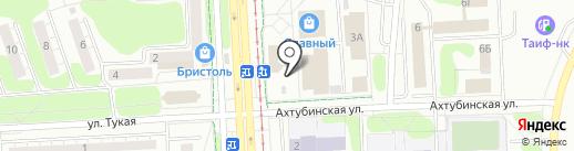 Колбасы на карте Нижнекамска