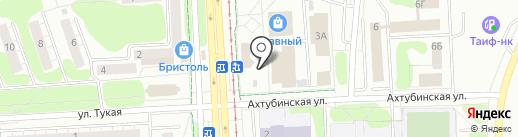 Магазин колбас и сыров на карте Нижнекамска