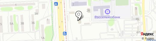 Рыночный комплекс на карте Нижнекамска