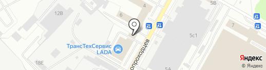 ТТС на карте Нижнекамска