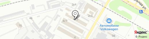 Домстрой-НК на карте Нижнекамска
