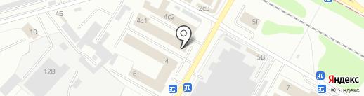 Автомойка на карте Нижнекамска