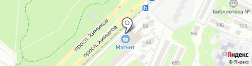 Магазин женской одежды и нижнего белья на карте Нижнекамска