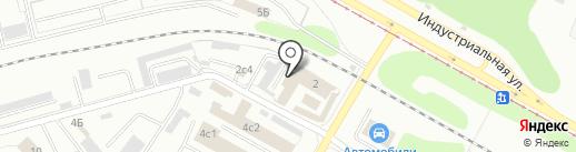 Электроцентр на карте Нижнекамска