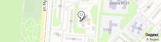 Центр оказания платных услуг населению на карте Нижнекамска
