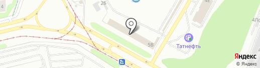 Магазин мебели на карте Нижнекамска