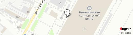 Магазин косметики и бытовой химии на карте Нижнекамска