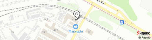 Профсталь на карте Нижнекамска