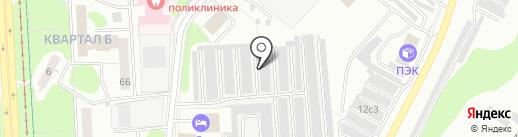 Автокомфорт на карте Нижнекамска