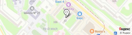 Faberlic на карте Нижнекамска