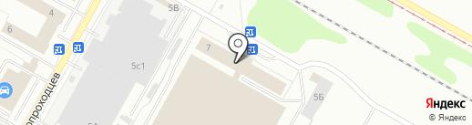 Актаныш-С на карте Нижнекамска