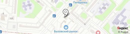 Варна на карте Нижнекамска