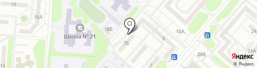 Совет ветеранов ВОВ и Труда на карте Нижнекамска