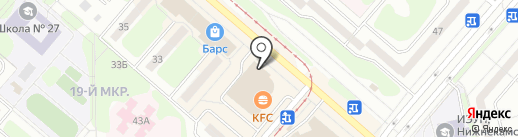 Почта банк, ПАО на карте Нижнекамска