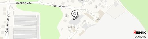 АвтоТехСервис на карте Красного Ключа