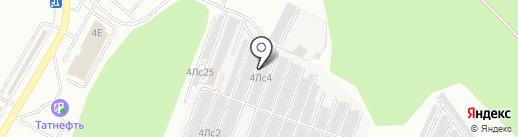 ГСИ-Гипрокаучук на карте Нижнекамска