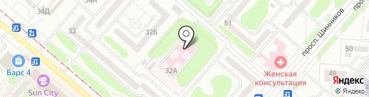 Управление здравоохранения по Нижнекамскому муниципальному району Министерства здравоохранения Республики Татарстан на карте Нижнекамска