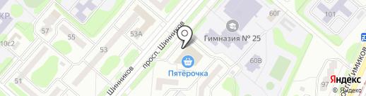 Венский штрудель на карте Нижнекамска