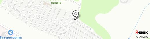 Автомобилист №13 на карте Нижнекамска