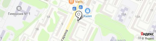 Нотариус Рустамханова А.Р. на карте Нижнекамска