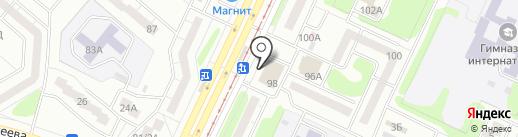 Магазин детских колясок и кроваток на карте Нижнекамска