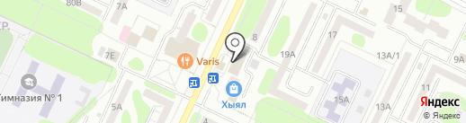 Сеть платежных терминалов, СБЕРБАНК РОССИИ на карте Нижнекамска
