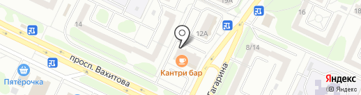 Аудит ТД-Гарант на карте Нижнекамска