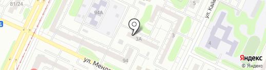 Городская библиотека №5 на карте Нижнекамска