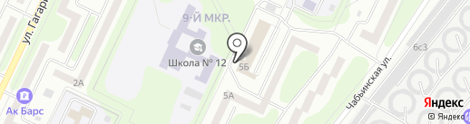 Юридическое бюро на карте Нижнекамска