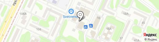 Банкомат, АК Барс банк, ПАО на карте Нижнекамска