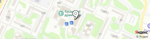 Почтовое отделение №582 на карте Нижнекамска